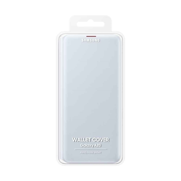 Picture of Samsung Galaxy A20 Wallet Cover EF-WA205PWEGWW - White