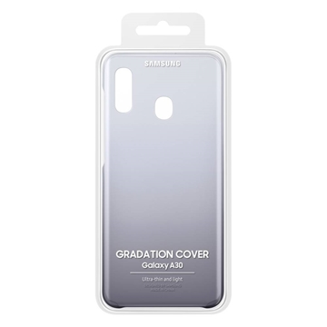 Picture of Samsung Galaxy A30 Gradation Cover EF-AA305CBEGWW - Black