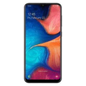 Telstra Samsung Galaxy A20 2019 (4GX, Blue Tick,  32GB/2GB) - Black