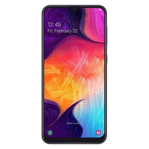 Picture of Samsung Galaxy A50 SM-A505YZKNXSA (4G/LTE, 64GB/4GB)  - Black