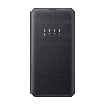 Samsung Galaxy S10e LED View Wallet Cover - Black