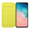 Picture of Samsung Galaxy S10e LED View Wallet Cover - White
