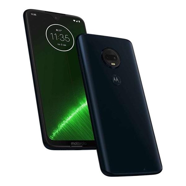 Picture of Motorola Moto G7 Plus XT1965-3 (Dual SIM 4G/3G, 64GB/4GB) - Indigo