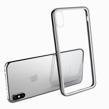 Picture of Cygnett Ozone 9H Glass Case for iPhone XS/X - Clear/White
