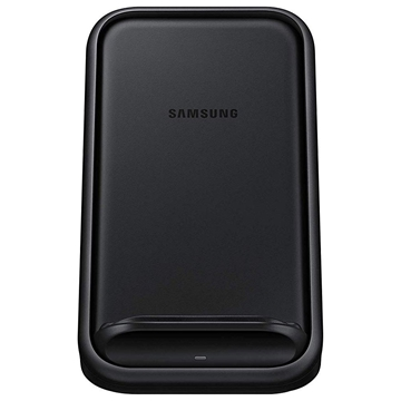 Picture of Samsung Wireless Fast Charger Stand with Fan Cooling (EP-N5200TBEGAU) - Black