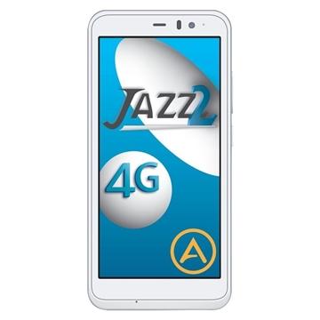 Aspera Jazz 2 (Dual 4G Sim, 16GB/1GB) - White/Silver