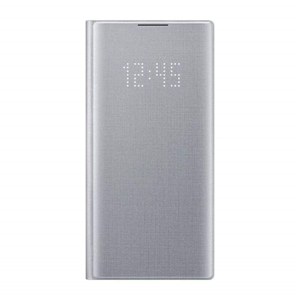 Picture of Samsung Galaxy Note10 LED View Wallet Cover - Silver