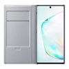 Samsung Galaxy Note10 LED View Wallet Cover - Silver