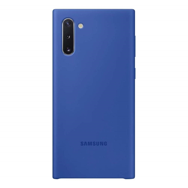 Picture of Samsung Galaxy Note10 Silicone Cover - Blue