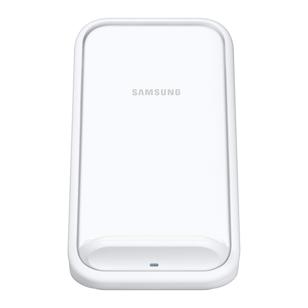 Picture of Samsung Wireless Fast Charger Stand with Fan Cooling (EP-N5200TWEGAU) - White