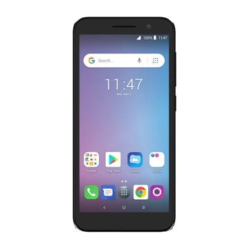 Telstra Alcatel Essential Plus (4GX Blue Tick) - Black