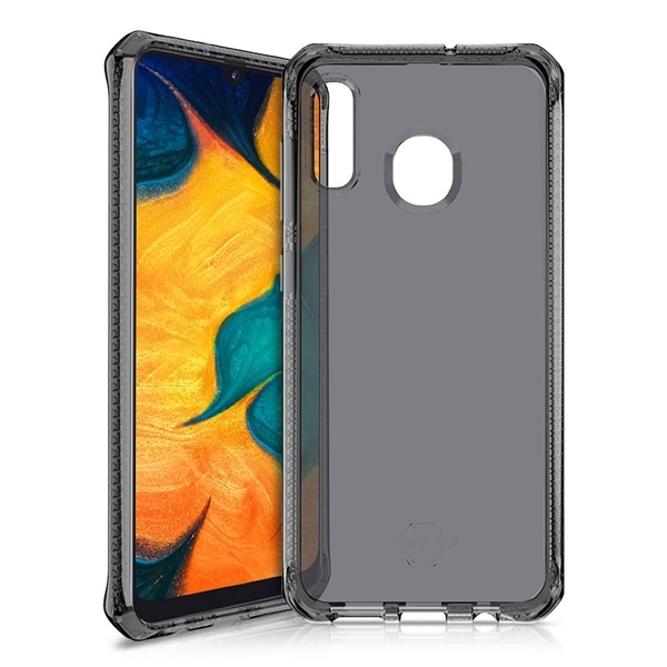 Picture of ITSKINS Spectrum 2M Drop Protection Cover for Galaxy A20/A30 - Clear/black