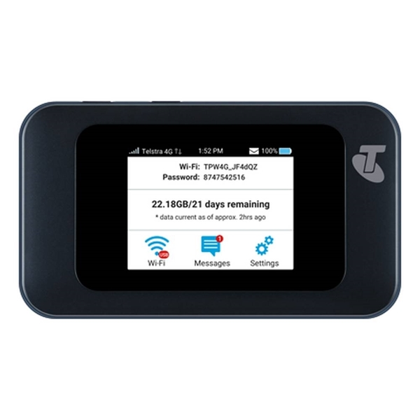 Picture of Telstra Prepaid 4GX Wi-Fi Hotspot Modem MF985T