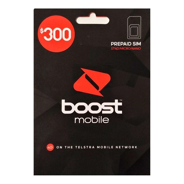 Boost Mobile $300 Prepaid SIM Starter Kit