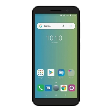 Telstra Alcatel Essential (4GX, Blue Tick, 8GB/1GB) - Black