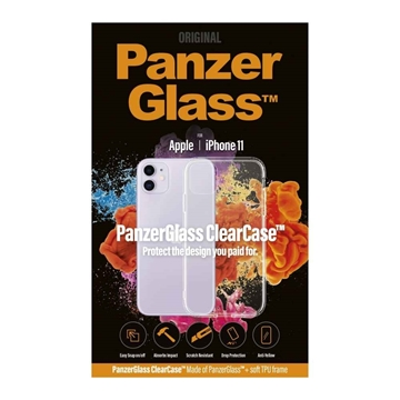 PanzerGlass ClearCase for iPhone 11 - Clear