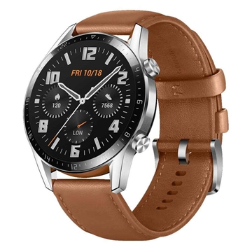 Picture of Huawei Watch GT 2 Classic 46mm Smartwatch - Pebble Brown