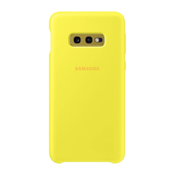 Samsung Galaxy S10e Silicone Cover - Yellow