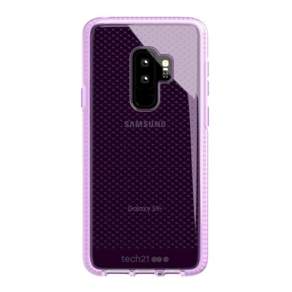 Tech21 Evo Check Case for Samsung Galaxy S9+ Plus - Orchid Pink