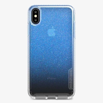 Picture of Tech21 Pure Shimmer Case for iPhone Xs Max - Blue