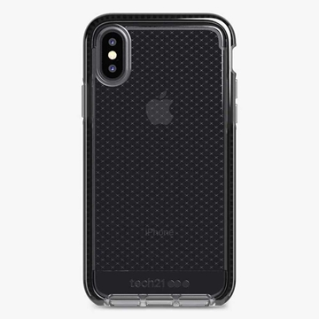 Picture of Tech21 Evo Check Case For iPhone Xs / X - Black