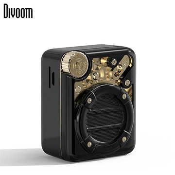 DiVoom Espresso Bluetooth Speaker - Black/Gold