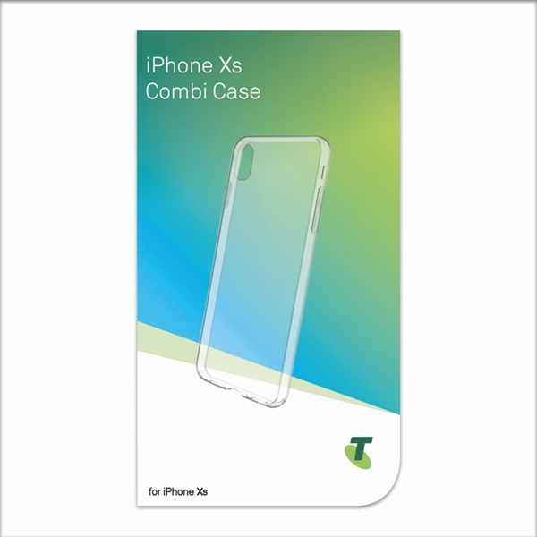 Telstra Combi Case for iPhone Xs / X - Clear
