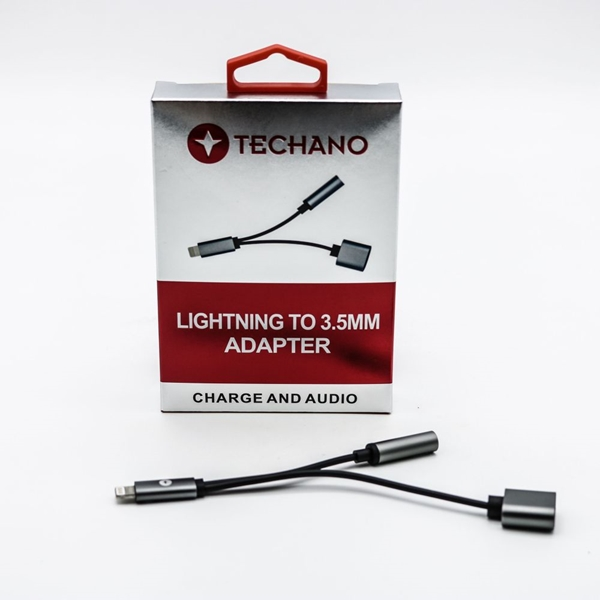 Techano Lightning to 3.5mm Adapter