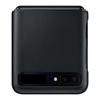Picture of Samsung Galaxy Z Flip Leather Cover EF-VF700LBEGWW - Black