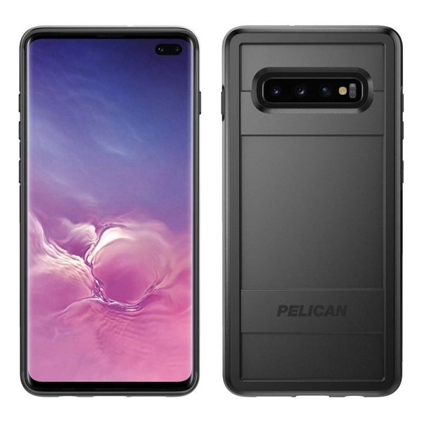 Pelican Voyager case for Samsung Galaxy S10+ Plus - Black