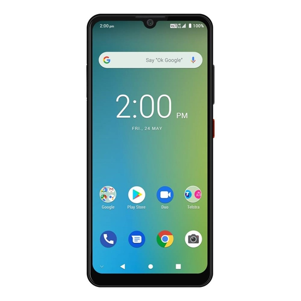 Telstra ZTE Evoke Plus A7 (4GX, Blue Tick, 16GB/2GB) - Black