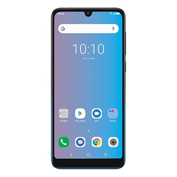 Telstra Alcatel Evoke Pro 3L (4GX, Blue Tick, 16GB/2GB) - Gradient Black/Blue