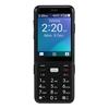 Telstra Zte EasyCall 5 T503 (4GX, Blue Tick, Senior Phone, Keypad) - Black