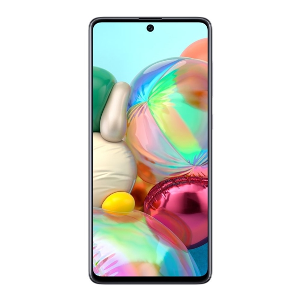 Samsung Galaxy A71 SM-A715FZSDXSA (Dual 4G Sim, 128GB/6GB) - Silver