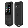 Nokia 800 Tough (4G/LTE, IP68 Rated, Rugged Phone) - Black Steel