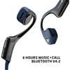 AfterShokz Trekz Air Wireless Bone Conduction Headphones (Bluetooth) - Midnight Blue