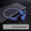 AfterShokz Aeropex Open-Ear Wireless Bone Conduction Headphones (Bluetooth, IP67 Rated) - Blue Eclipse
