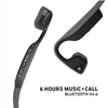 AfterShokz Titanium Wireless Bone Conduction Headphones (Bluetooth, Sweatproof) - Slate Grey