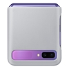 Samsung Galaxy Z Flip Leather Cover EF-VF700LSEGWW - Grey