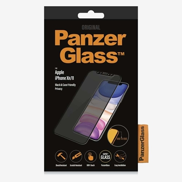 PanzerGlass iPhone 11 / XR Privacy Glass Screen Protector - Black