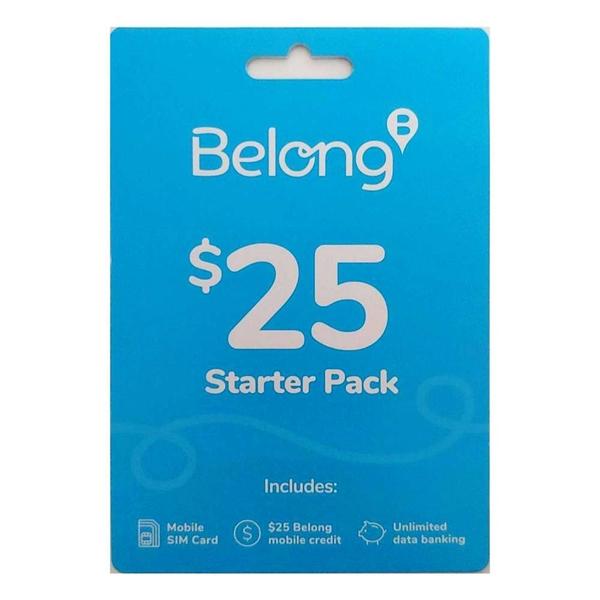 Belong $25 PrePaid SIM Starter Pack