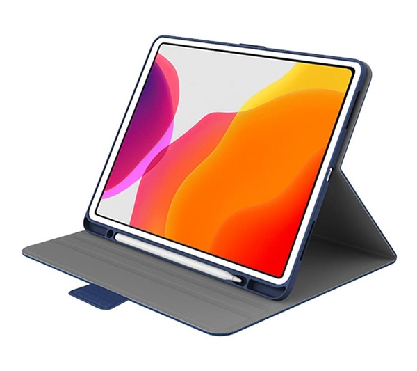 """Cygnett TekView slimline case for iPad Pro 11"""" (2020/2018) with Apple Pencil Holder - Navy/Blue"""