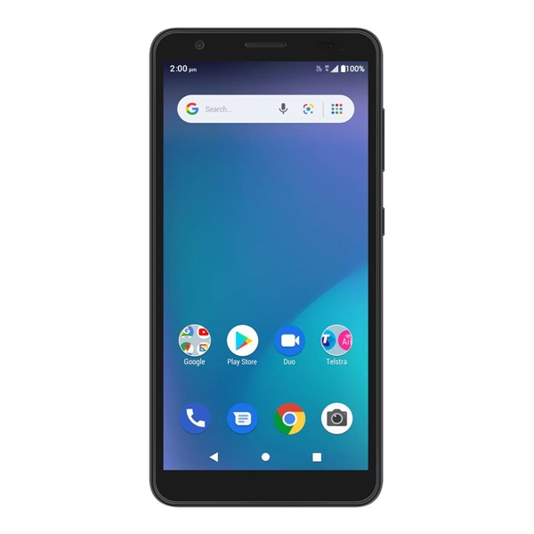 Telstra ZTE Essential Smart 3 (A3 2020, 4GX, Blue Tick, 16GB/1GB) - Black
