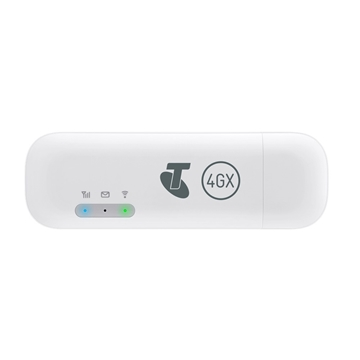 [OPEN BOX] Telstra Pre-Paid 4GX E8372 USB + WiFi Modem 2020 - White