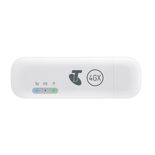 [OPEN BOX] Telstra Pre-Paid 4GX E8372 USB + WiFi Modem 2020 - White