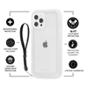 Pelican Marine Active IP54 iPhone 12 Pro Max case - Clear