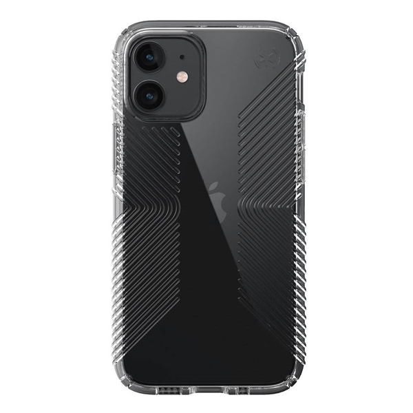 Speck Presidio Perfect-Clear with Grips case for iPhone 12 mini - Clear