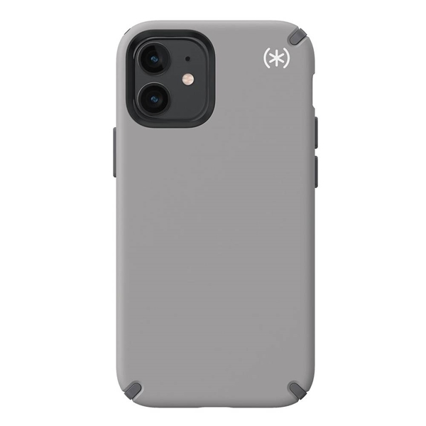 Speck Presidio2 Pro case for iPhone 12 mini - Cathedral Grey