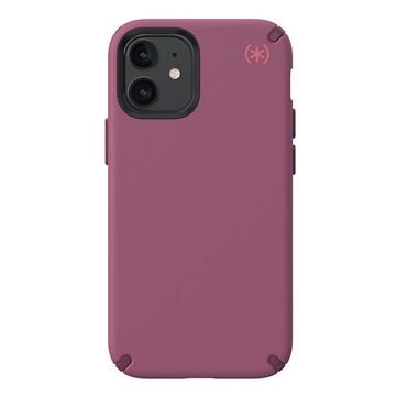 Speck Presidio2 Pro case for iPhone 12 mini - Lush Burgundy