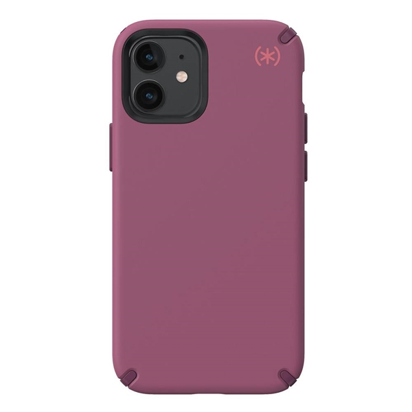 Speck Presidio2 Pro case for iPhone 12 mini - Lush Burgundy